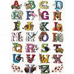 Бумага для техники DECOPATCH 30х40/ Алфавит