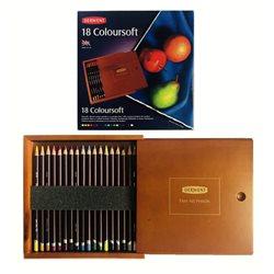 Набор карандашей Coloursoft 18 цветов в дерев. коробке