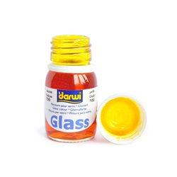 Краска по стеклу Darwi Glass Желтая 30 мл