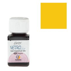 "Краски по стеклу ""Esprimo-Vetro Color"" №462 -желтый/50мл"