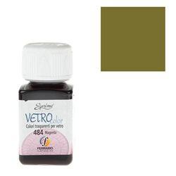 "Краски по стеклу ""Esprimo-Vetro Color"" №482 -Оливковый/50мл"