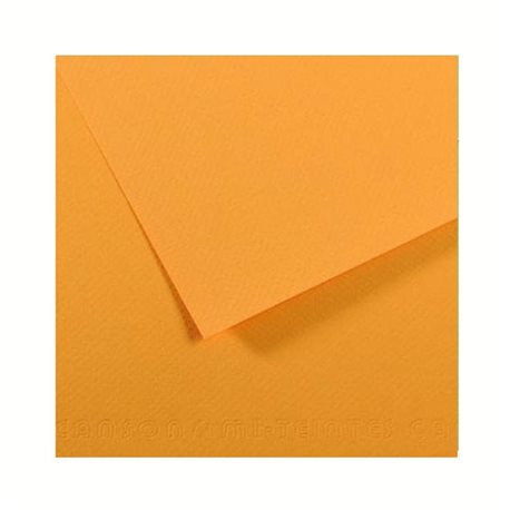 106.Бумага для пастели 50x65 Митант 160 г /шафран