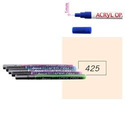 Телесный. Акриловый маркер DARWI Acryl Opak 1мм