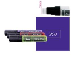 Фиолетовый. Акриловый маркер DARWI Acryl Opak 15мм