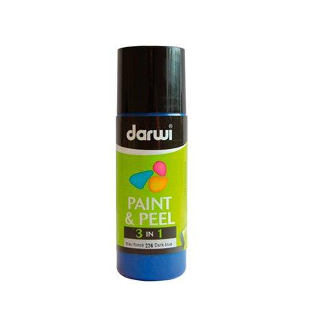 Краска трансфертная Paint & Peel/ Темно-синяя 80 мл