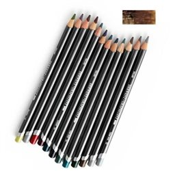 "Акваграфитный карандаш ""Graphitint"" 14 Красновато-коричневый"