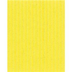 Картон цв. гофриров. мелкий. 230г/м, 50х70 см /Лимон.