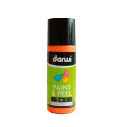 Краска трансфертная Paint & Peel/ Оранжевая 80 мл