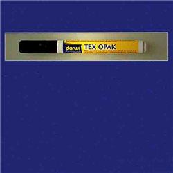 Маркер по текстилю DARWI Tex Opak 6 мл/ Синий темный/ круглый. наконечн.