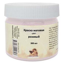 Краска акрил.декоративная матовая, розовая Daily Art 300 мл
