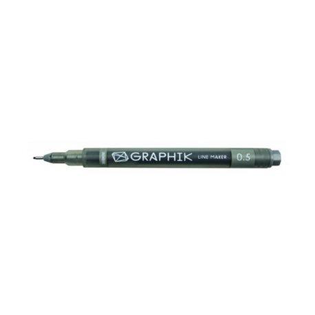 Мультилайнер GRAPHIK Line marker 0.5 / Графит