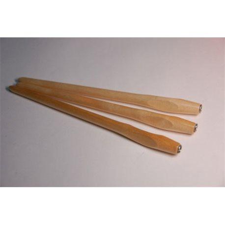 Держатель для пера с эргономичным захватом - натур. дерево лак.