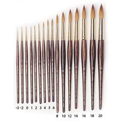 Кисть круглая Da Vinci 36Y/харбинский колонок/шестигран. ручка/№ 1