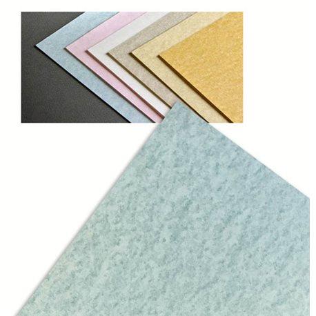 Бумага для каллиграфии Carrara 50*70, 175 гр / небесный