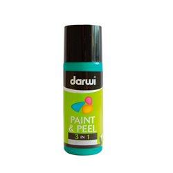 Краска трансфертная Paint & Peel/ Темно-зеленая 80 мл