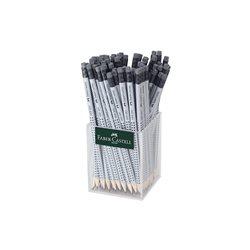 """Чернографитовый карандаш""""GRIP 2001"""" c ластиком ,твердость HB."""