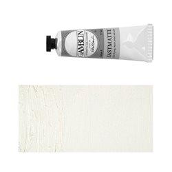 Алкидно-масляная краска Gamblin FM Белила титановые, матовая, быстросохнущая