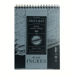Блок INGRES LTD A4 BLACK 21х29,7см, 90гр.