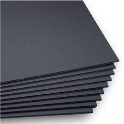 Пенокартон черный/черная пена - 5мм 100 x 140 cm.