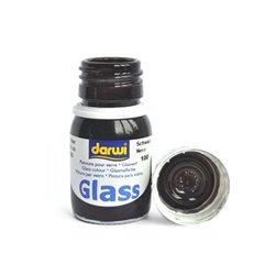 Краска по стеклу Darwi Glass Черная 30 мл