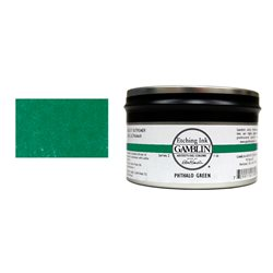 Зеленый фтал. Краска для глубокой печати Gamblin Etching Ink