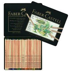 Набор пастельных карандашей PITT Pastel 24 цв в метал. коробке