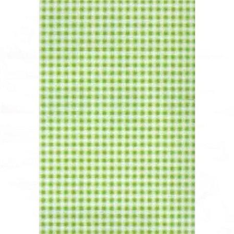 Бумага для техники DECOPATCH 30х40 / Зеленая клетка