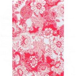 Бумага для техники DECOPATCH 30х40 / Цветочный орнамент красный