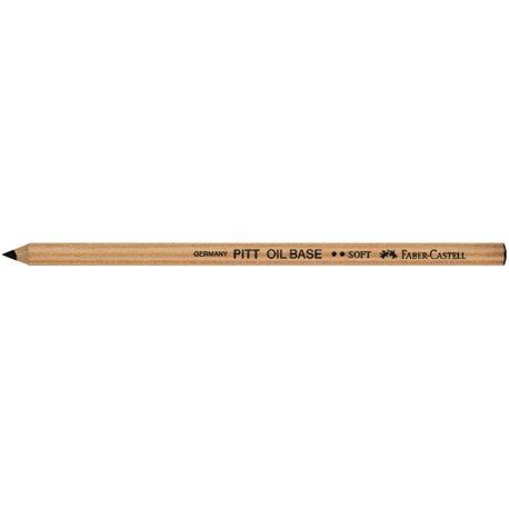 Черный карандаш PITT OIL BASE мягкий