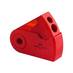 Точилка SLEEVE Faber-Castell двойная цвет красный/синий