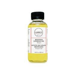 Льняное рафинированное масло Gamblin