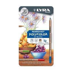 Набор карандашей цветных Lyra Rembrandt Polycolor 12 шт.