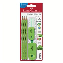 Специальный набор с карандашами Grip 2001 зеленый