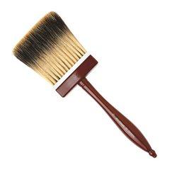 Кисть альфрейная Da Vinci 96/плоская/барсук/в полимерной пластине/ дерев. ручка/№70