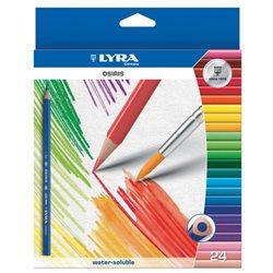 Набор акварельных карандашей Lyra OSIRIS AQUARELL 24 цв.