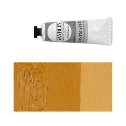 Алкидно-масляная краска Gamblin FM Охра желтая, матовая, быстросохнущая