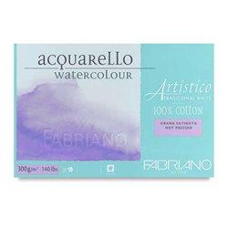 Склейка для акварели Artistico 35,5х51см, 300 г, 15л./ горяч.прессования