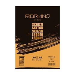 Блок Schizzi 14.8*21, 60 листов, 90 гр склейка