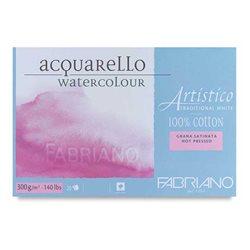 Склейка для акварели Artistico 30,5х45,5см, 300 г, 20л./ холодн.прессования