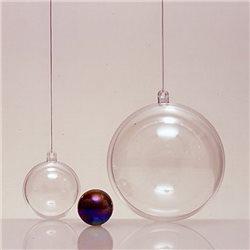 Прозрачный пластиковый шар 60мм