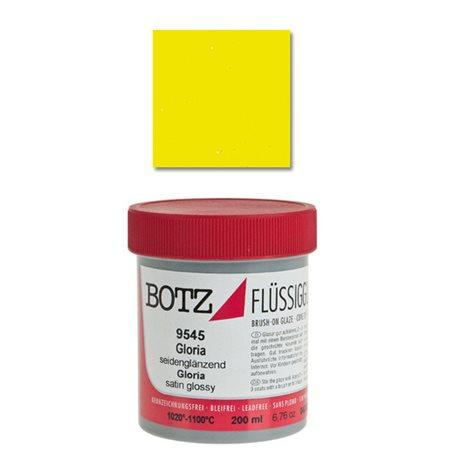 Эмаль Botz 1020-1060°/желтый солнечный