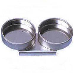 Масленка двойная, металл.d-55