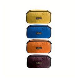 """Школьный пенал увеличенный, базовые цвета""""Faber Castell"""