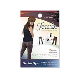 Jeanie Dye, джинсовый краситель для перекрашивания в стир. машине, 010 коричневый