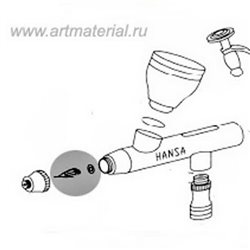 Сопло 0.2 мм для Hansa 101/201