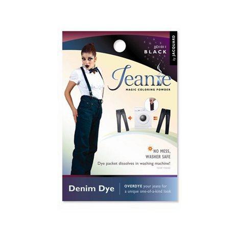 Jeanie Dye, джинсовый краситель для перекрашивания в стир. машине, 011 черный