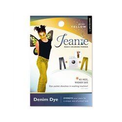 Jeanie Dye, джинсовый краситель для перекрашивания в стир. машине, 001 желтый