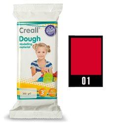 Масса самоотверждаемая Creall Dough Havo/ Красная 350 гр