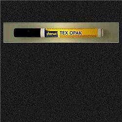 Маркер по текстилю DARWI Tex Opak 6 мл/ Черный/ круглый. наконечн.