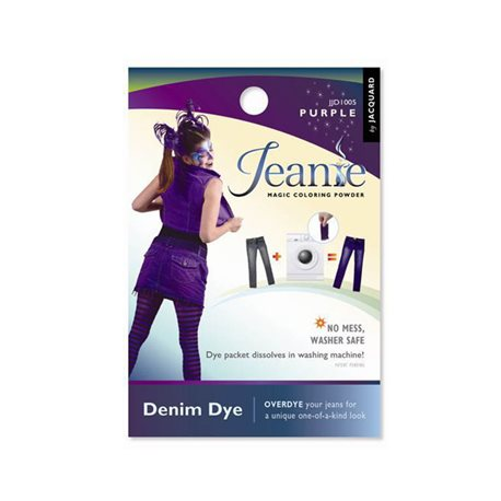 Jeanie Dye, джинсовый краситель для перекрашивания в стир. машине, 005 фиолетовый
